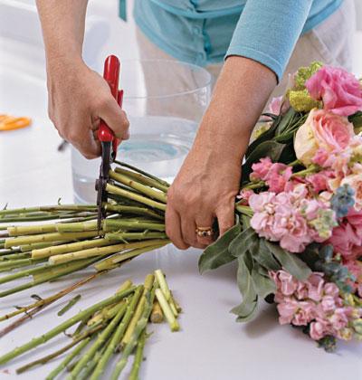 Bí quyết bảo quản hoa tươi