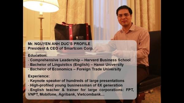 NGUYỄN ANH ĐƯC - CEO SMARTCOM