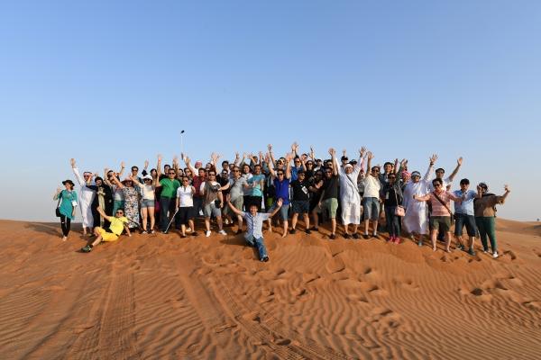 Cộng đồng Doanh nhân PTI - tham quan kiến tập Dubai