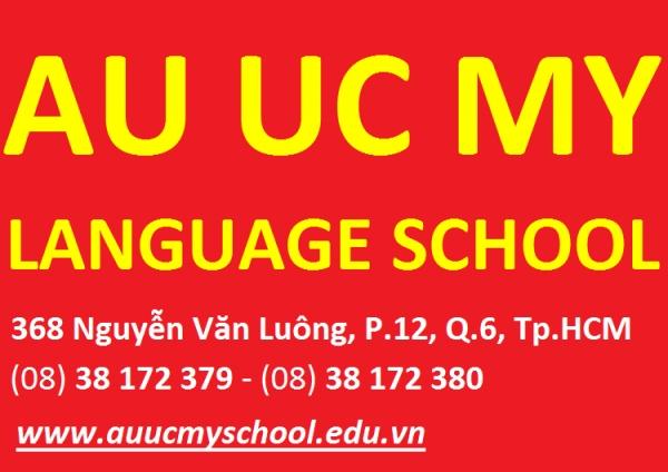 TRƯỜNG NGOẠI NGỮ ÂU ÚC MỸ . Địa chỉ: 368 Nguyễn Văn Luông, P.12, Q.6, Tp.HCM . Điện thoại: (08) 38 1