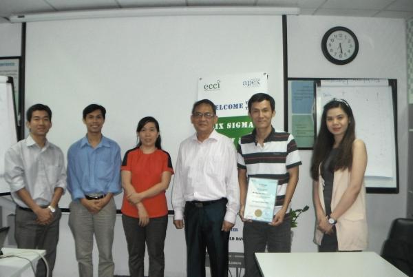 Kết thúc khóa học Six Sigma Yellow Belt tại ECCI Việt Nam (TPHCM)
