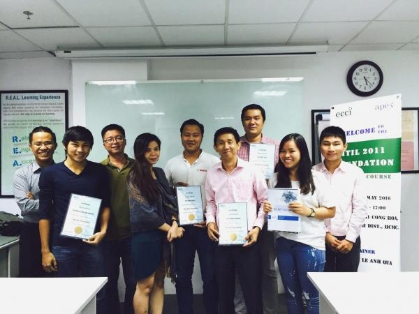 Khóa học ITIL 2011 Foundation tại ECCI Việt Nam (TPHCM)