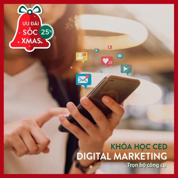 Giảm ngay 25% học phí khóa digital marketing