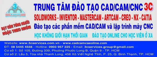 Trung tâm Đào tạo CAD/CAM/CNC 3C